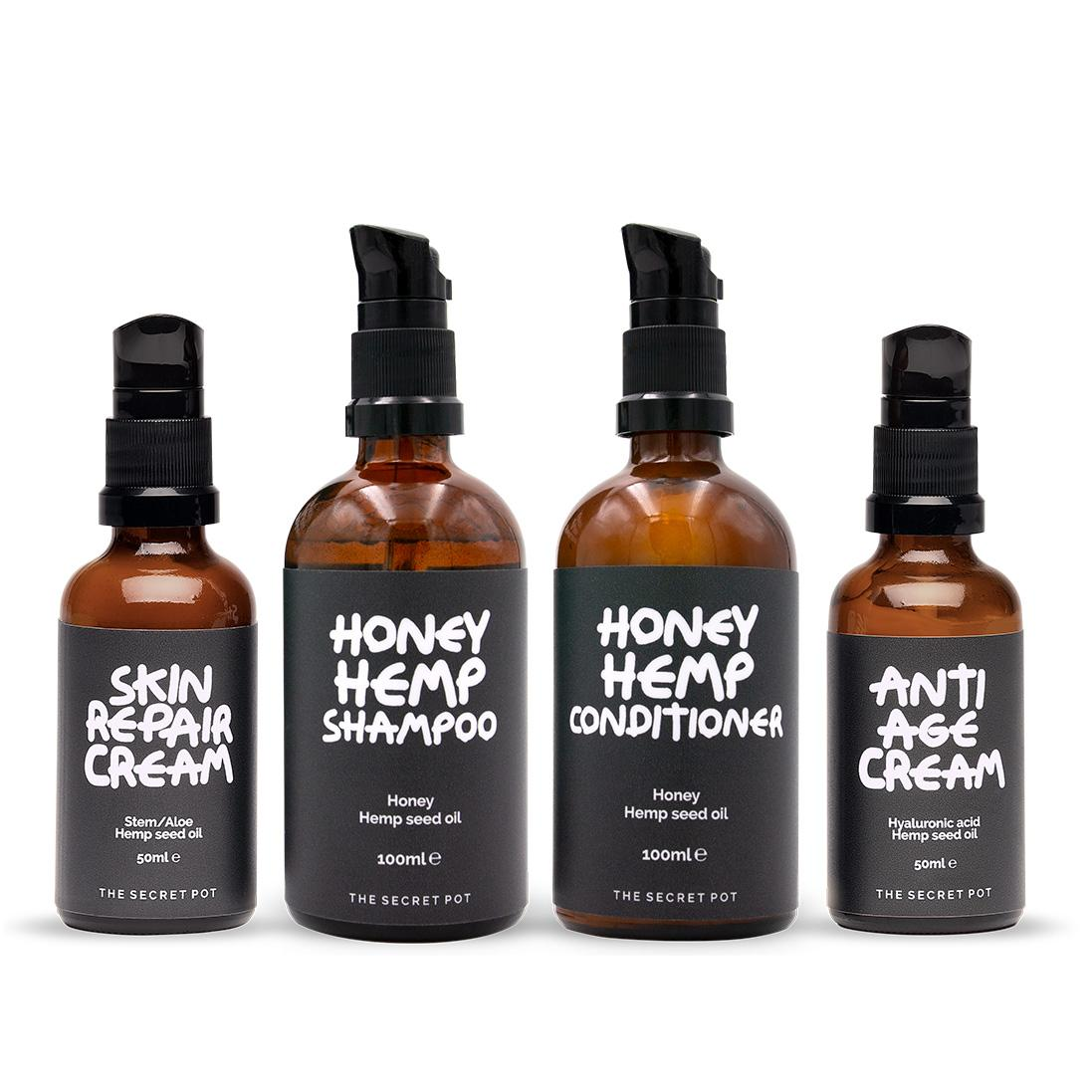 Hemp Beauty Set